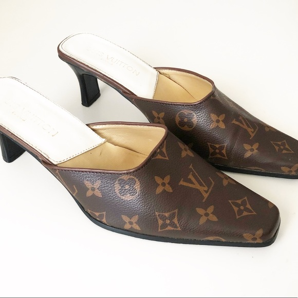 Vintage Louis Vuitton Heels | Poshmark